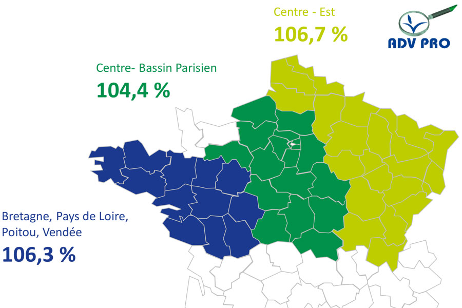 resultat rendement mais grain volney